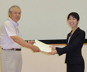 白石 阿紀子 会員(北海道大学)
