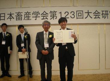優秀発表賞(第123回大会)受賞者